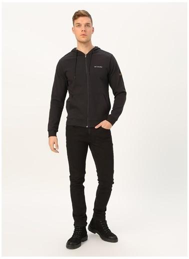 Columbia Columbia CS0026 Csc M Fz Hooded Erkek    Sweatshirt Siyah